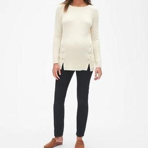 GAP: Maternity Side Lace-Up Sweater Tunic